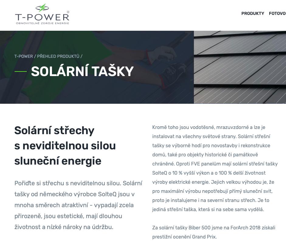 T-Power – texty na web a PR