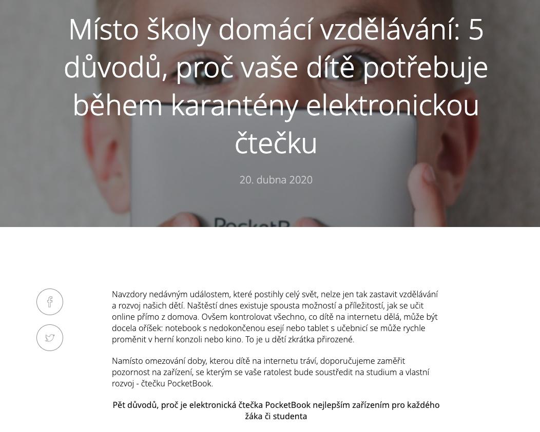 Články pro PocketBook